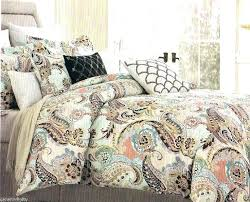 brown quilts king size paisley king comforter sets blue brown quilt bedding aqua lime 4 size