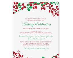 Microsoft Word Christmas Invitation Template