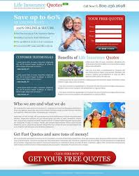 Free Life Insurance Quotes Online 100 best life insurance landing page design images on Pinterest 95
