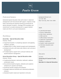 The attached teacher resume example, along with the resume.io builder tool and sample sentences for teacher resumes, are here to then, for each teacher job application, customize your resume to include the most appropriate and relevant skills. Special Education Teacher Resume Examples Jobhero