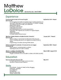 copies of resumes