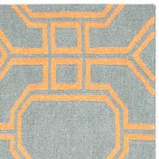 grey and orange area rug h burnt orange and grey area rugs