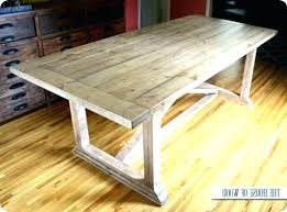 rustic dining table diy. Diy Dining Table Plans Build A Room  Rustic .