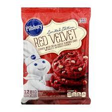 pillsbury cookies. Modren Cookies Pillsbury Ready To Bake Red Velvet Limited Edition Cookies To