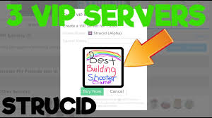 Interact with the official discord server for strucid and infection! Roblox Strucid Vip Servers 3 Free Vip Servers September 2019 Youtube