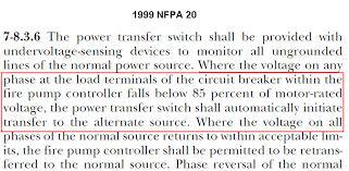 firetrol fire pump transfer switch normal breaker failure lockout for years nfpa 20 has required and still does the fire pump transfer switches to start the generator and transfer to emergency on loss of power on the