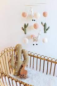 cactus nursery boho nursery pom pom