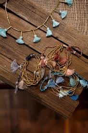 tel bracelets and necklaces are featured in robindira unsworth s new line of jewelry at her