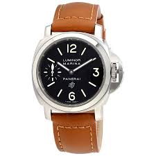 panerai luminor marina black dial men s watch pam01005 luminor panerai luminor marina black dial men s watch pam01005