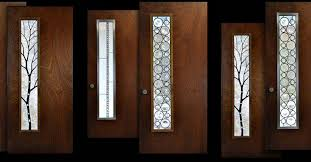 glass door inserts glass door inserts custom leaded glass panels