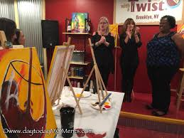 painting with a twist was officially started in 2009 there are over 255 franchise locations throughout the states but this brooklyn location is the first