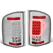 Chevy Silverado Security Light 07 13 Chevy Silverado Gmc Sierra Led Tail Lights Chrome