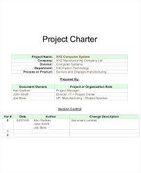 project charter construction it charter template retailbutton co