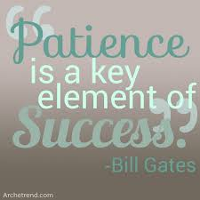 Patience Is A Virtue Quote Stunning Quotes About Patience Virtue 48 Quotes
