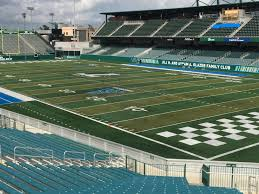 Tulane Stadium Seating Chart Yulman Stadium Section 125 Rateyourseats Com