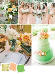 peach wedding colors. 15 Wedding Color Combos Youve Never Seen