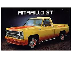 Amazon.com: 1979 GMC Amarillo GT Cowboy Cadillac Pickup Truck ...
