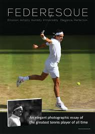 federesque the first elegant coffee table book on roger federer