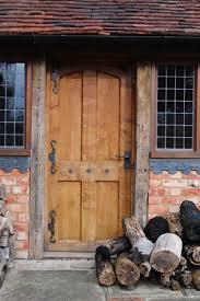 external wooden cottage doors. vernacular 17th century style oak panelled door external wooden cottage doors
