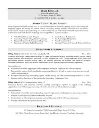 Business Analyst Resume Summary — Resumes Project