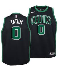 Jayson tatum signed a 4 year / $30,073,320 contract with the boston celtics, including $30,073,320 guaranteed, and an annual average salary of $7,518,330. Nike Boston Celtics Jayson Tatum Statement Swingman Jersey Big Boys 8 20 Reviews All Kids Sports Fan Shop Macy S