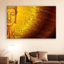 canvas painting beautiful buddha religious art wall painting for living room bedroom