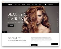 A La Mode Hair Design Skokie Il 33 Hair Salon And Barber Shop Wordpress Themes 2020 Colorlib