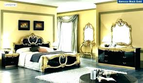 Rose Gold And Black Bedroom Black And Gold Bedroom Gold And Black ...