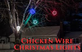 lighting outdoor trees. How To Make Lighted Chicken Wire Christmas Balls, DIY Outdoor Decorations - YouTube Lighting Trees I