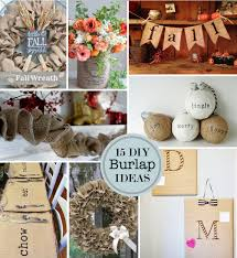 Burlap Crafts 15 Diy Burlap Craft Ideas Perpetually Daydreaming