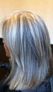 Blonde Highlights For Gray Hair Here