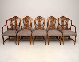 antique wooden dining chairs. Unique Wooden Set Of 10 Antique Mahogany Shield Back Dining Chairs To Wooden