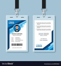 Company Id Badge Template 012 Free Id Badges Templates Template Ideas Unbelievable