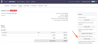 invoice operations docs the stop dunning option will only stop the dunning process and cancel all the scheduled retries for the invoice however the subscription will continue to