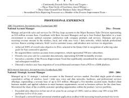 Manager Resume Objective Business Operations Account Statement