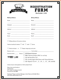 Enrolment Form Template Registration Form Template The Free Website Templates 9