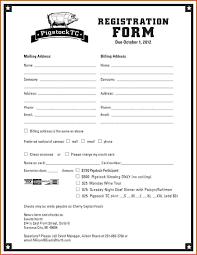 Enrolment Form Template Registration Form Template The Free Website Templates 9