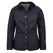 Barbour Spring Annandale Quilted Jacket in Navy & Spring Annandale Quilted Jacket in Navy by Barbour - 1 Adamdwight.com