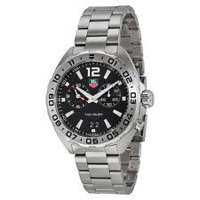 mens tag heuer chronograph watch tag heuer formula 1 chronograph black dial stainless steel mens watch