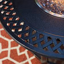 napoleon victorian round patioflame gas fire pit table 0 0adminniche2018 04 18t09 18 37 00 00