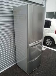 0円三菱3ドア冷蔵庫 370l 自動製氷差し上げます無料足立区