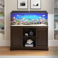 Aquarium furniture design Odd Shaped Coconutconnectionco Corner Aquarium Stand Wayfair