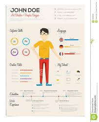 resume template graphics resume builder resume template graphics creative resume cv psd template cmyk print ready flat resume infographics resume