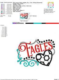 soccer frame eagles 16 5x7 6x10
