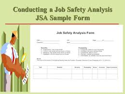 Job Safety Analysis Template Free Gorgeous Functional Jsa Template Excel Job Task Lysis List Word Weekly Safety