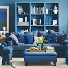 blue living room accent wall blue living room furniture ideas