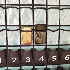 Cell Phone Pocket Chart Nimes Hanging Closet Underwear Sock Organizer Over The Door