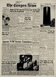 Canyon News Newspaper Archives, Jun 4, 1958, p. 1