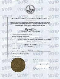 Апостиль США на копии американского диплома Апостиль на копии диплома американского университета