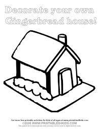 blank gingerbread house coloring pages. Wonderful House Printables4Kids  Free Coloring Pages Word Search Puzzles And  Gingerbread  House BLANK For Creative Planning To Blank Gingerbread House Coloring Pages N